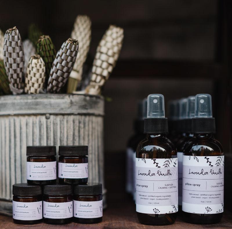 Lavender Horticulture Decor