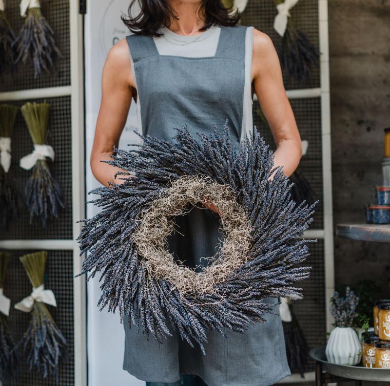 Lavender Wreath workshop