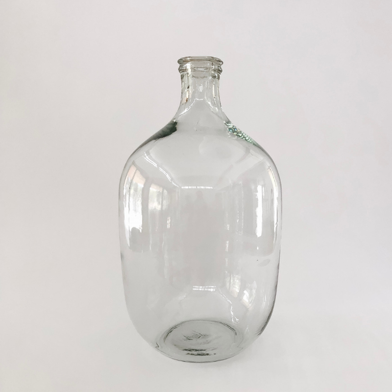 Oversized glass vase