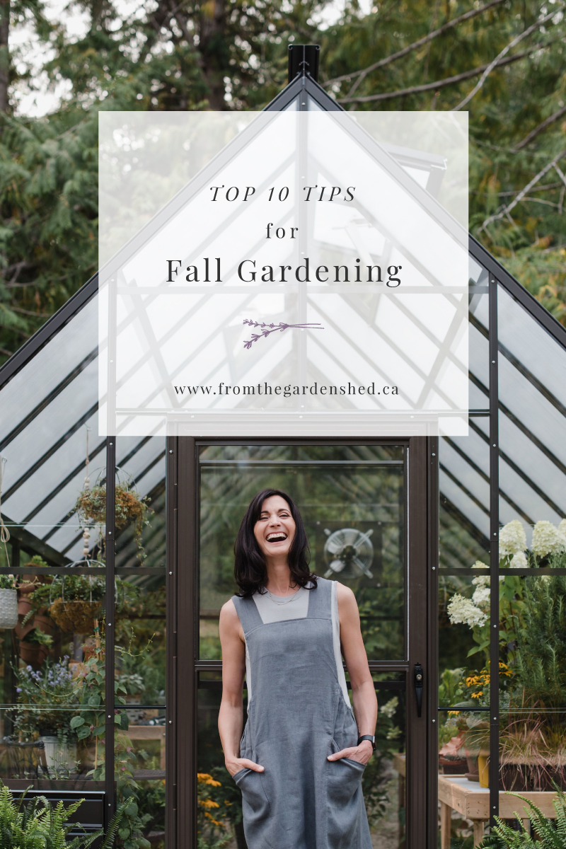 Top Ten Fall Gardening Tips