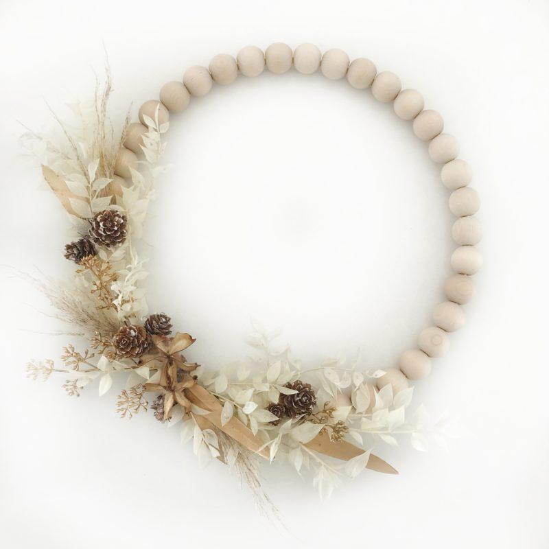 Contemporary Winter Wreath